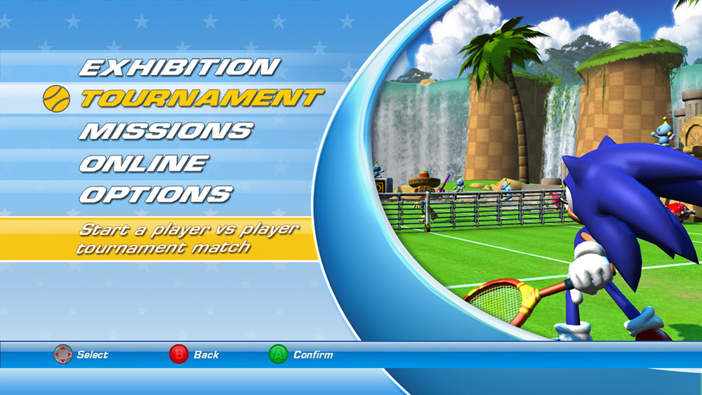 sega tennis superstars xbox