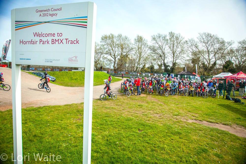 Hornfair BMX Track, the venue for Round 2