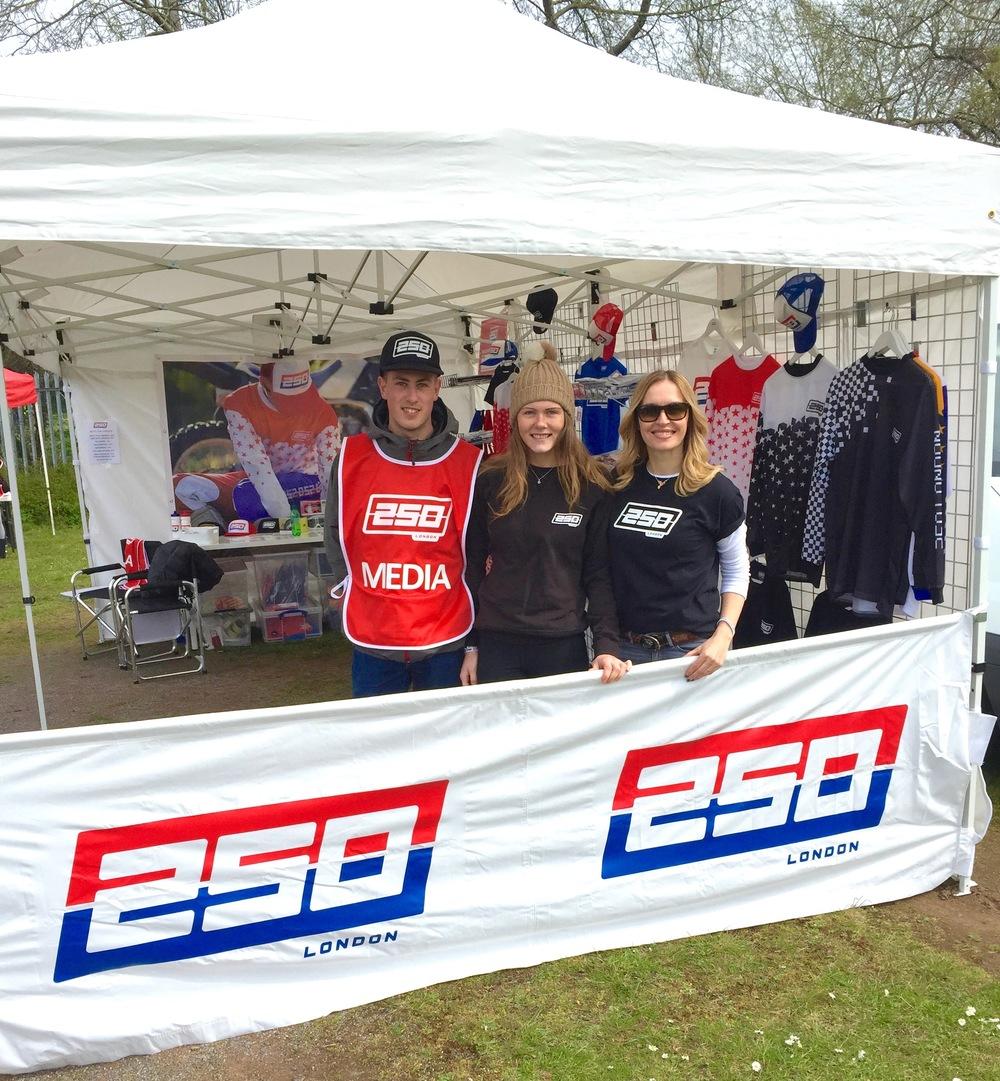 Lori, Jess + Jen, the 250 Team