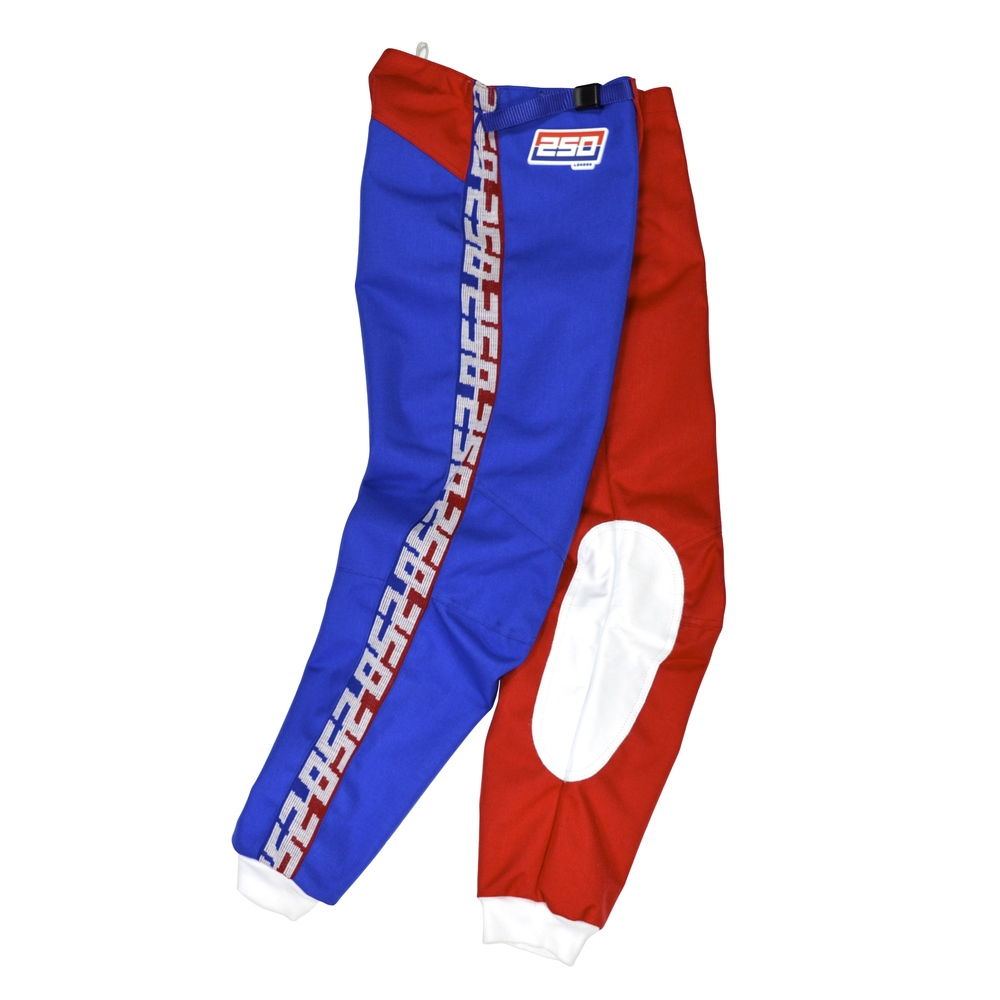 250LONDON red white blue pants
