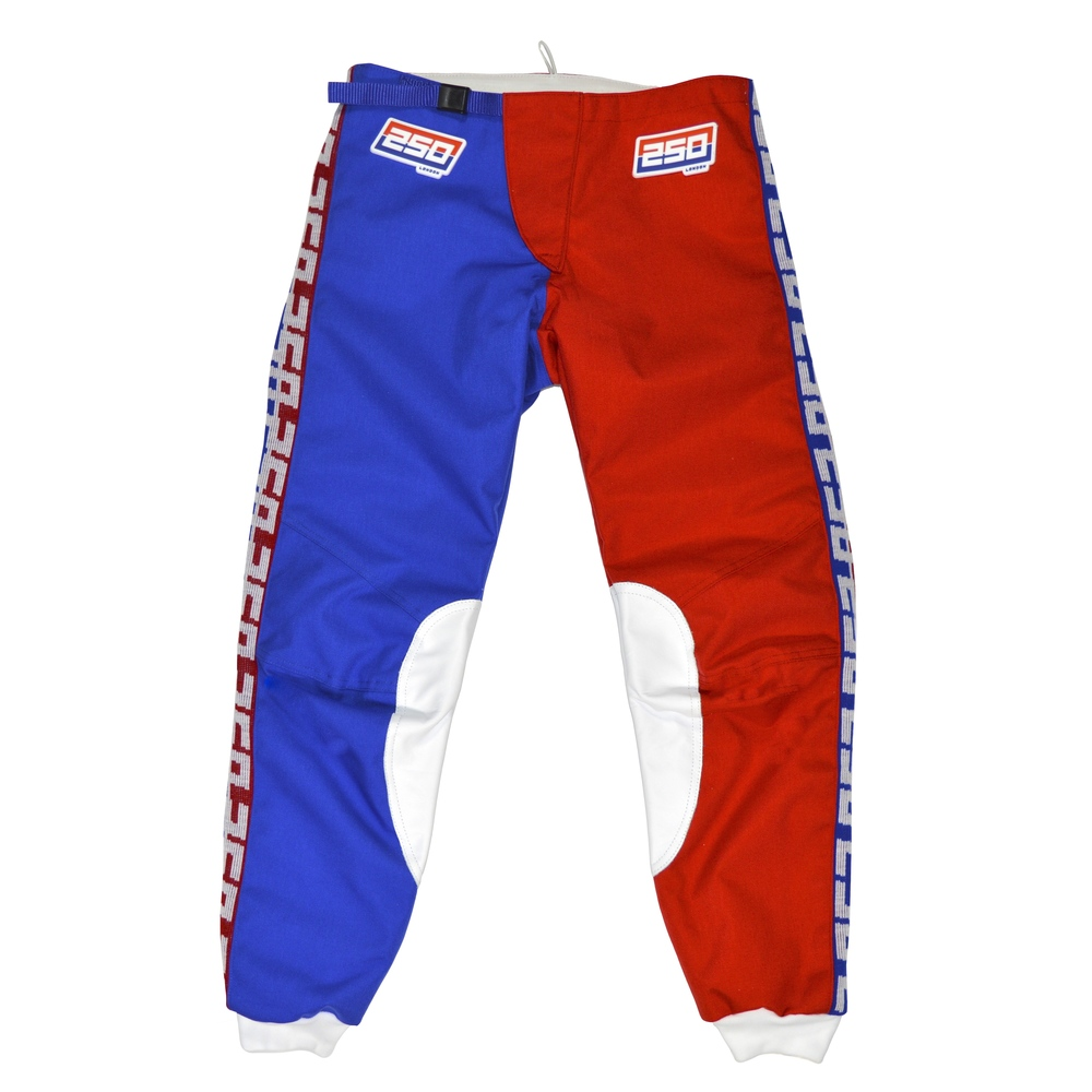 250LONDON Classic Red/Blue Pants