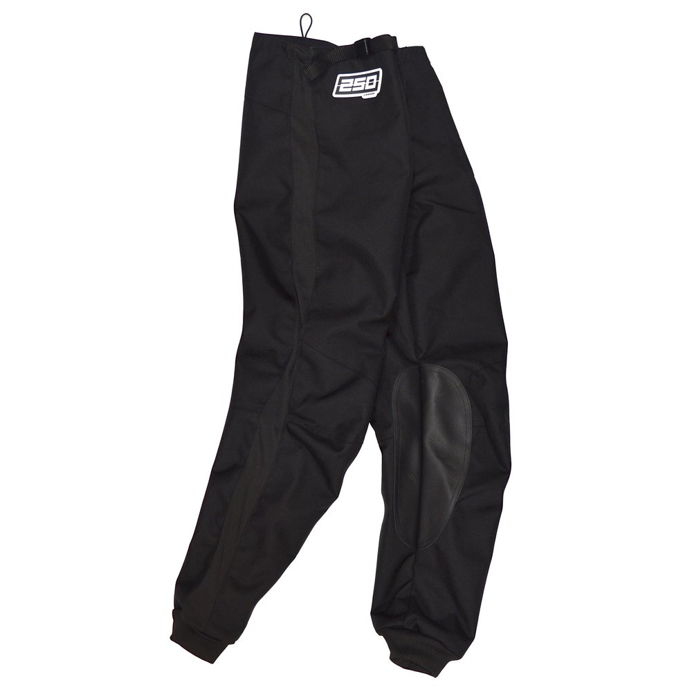 250london black race pants