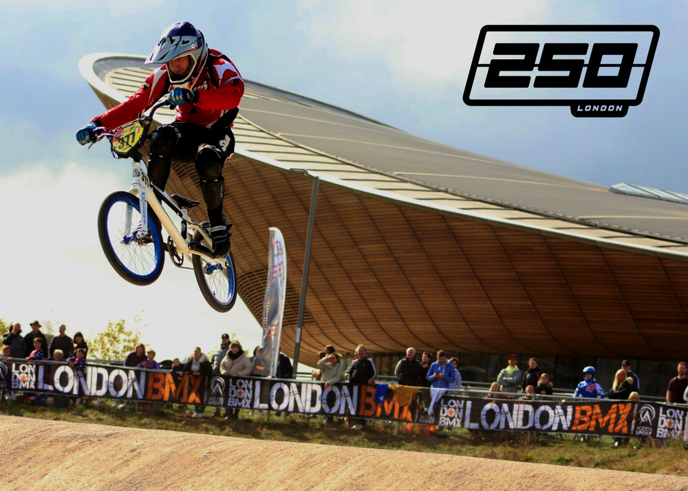 Ending on a high at the iconic Olympic BMX Track  {Image by TT BMX Pics}