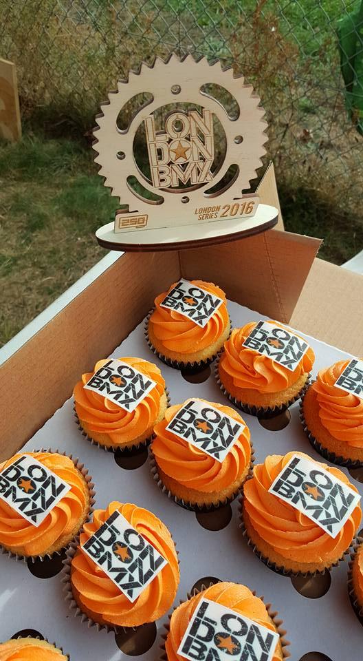 Bridget's LDN BMX Cupcakes