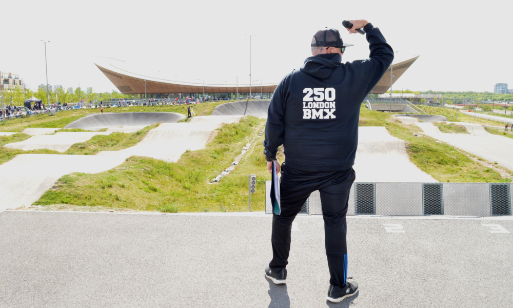 """Bring it on Velopark""!!   SCOTT DICK, LDN BMX"