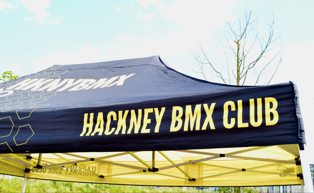 Hackney BMX Club were our hosts for round 2...