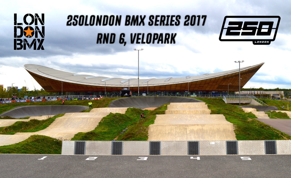 Velopark, a suitably serious venue for the Grand Finale