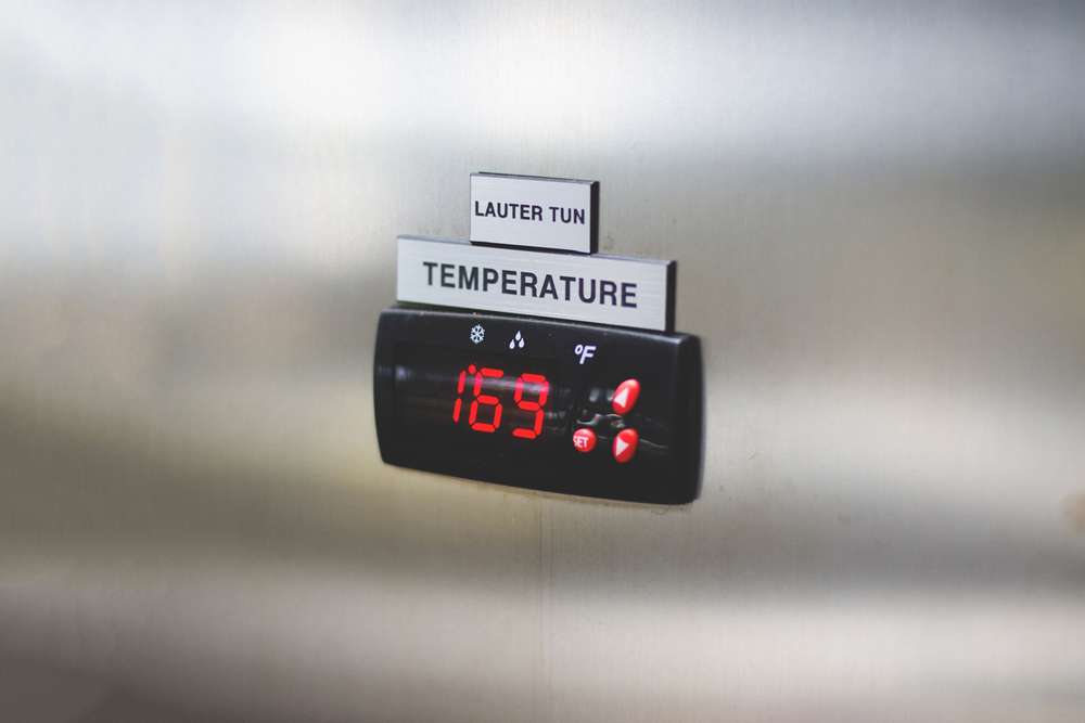 Water temperature plays a crucial role in the brewing process.