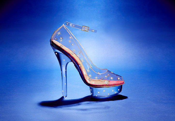 A glass slipper for the modern gal, these perspex and Swarovski crystal Charlotte Olympia platformsare like a fairytale brought to life.