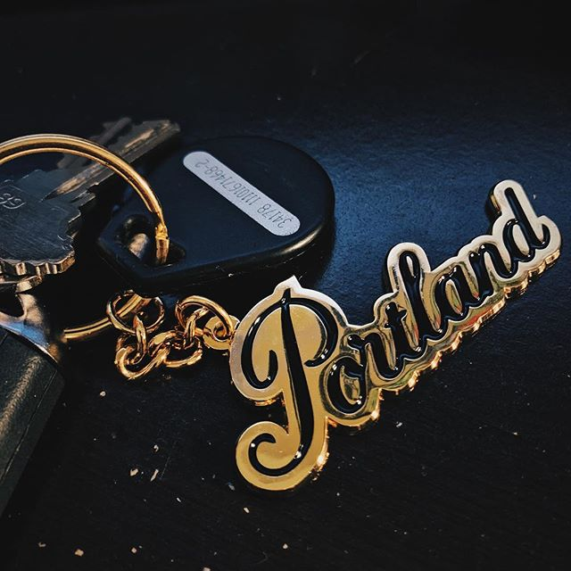 On my keys & in my heart. Missing the rose city already. Pictures coming soon #portlandia