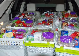 Food Baskets for Central Families in Need