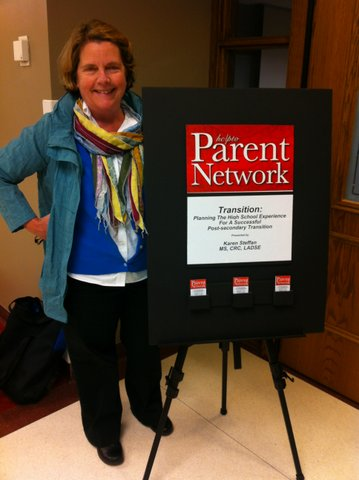 Founder Sally Parsons Parent Network was founded in 2009.