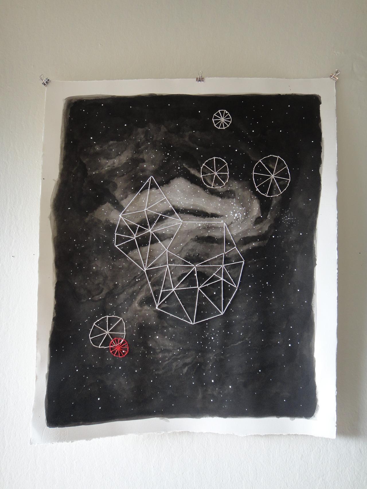 Stitched Geometric, 2013