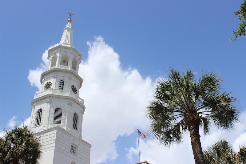 Back in genteel, lovely Charleston, South Carolina.