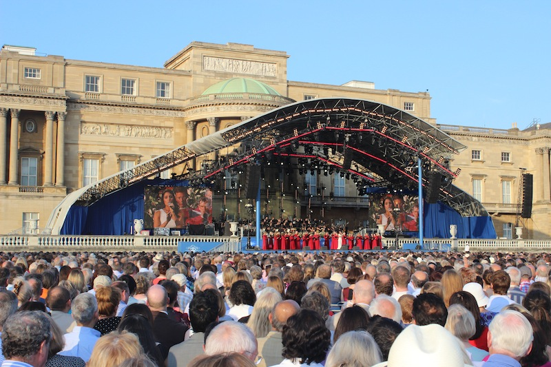A major highlight - attending the Coronation Festival & concert at Buckingham Palace in London.