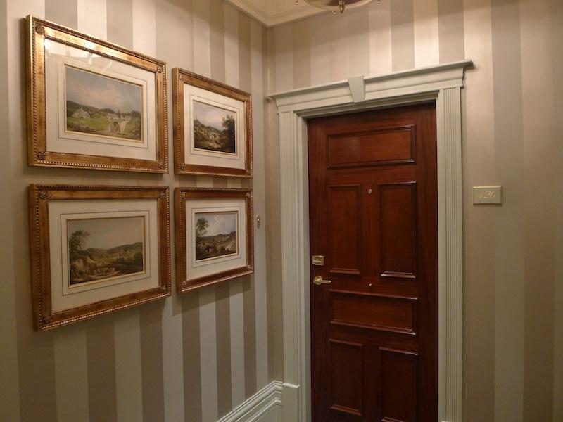 Door to my room & The Savoy Hotel London \u2014 Annie Fitzsimmons