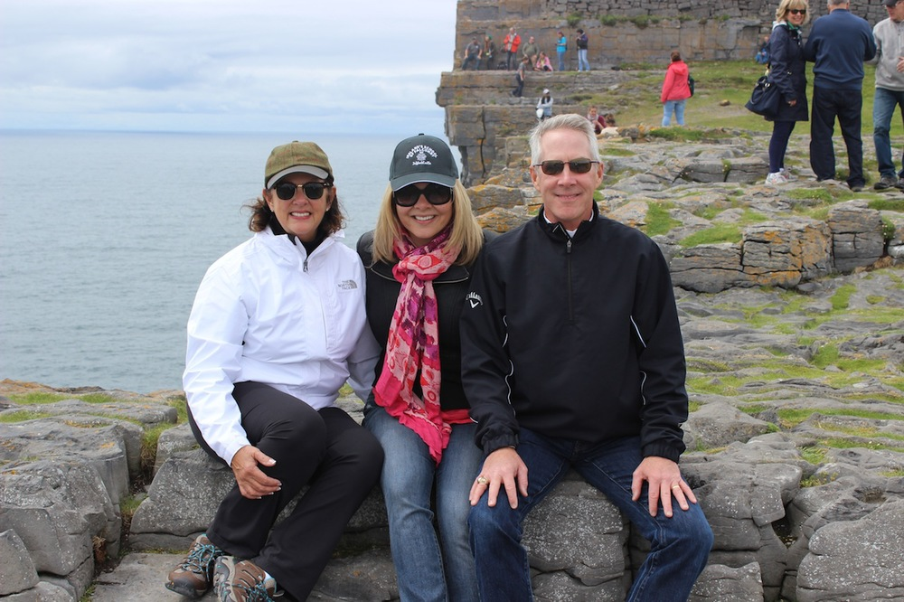 Uncle John & Aunt Colleen - a beautiful day on the Aran Islands