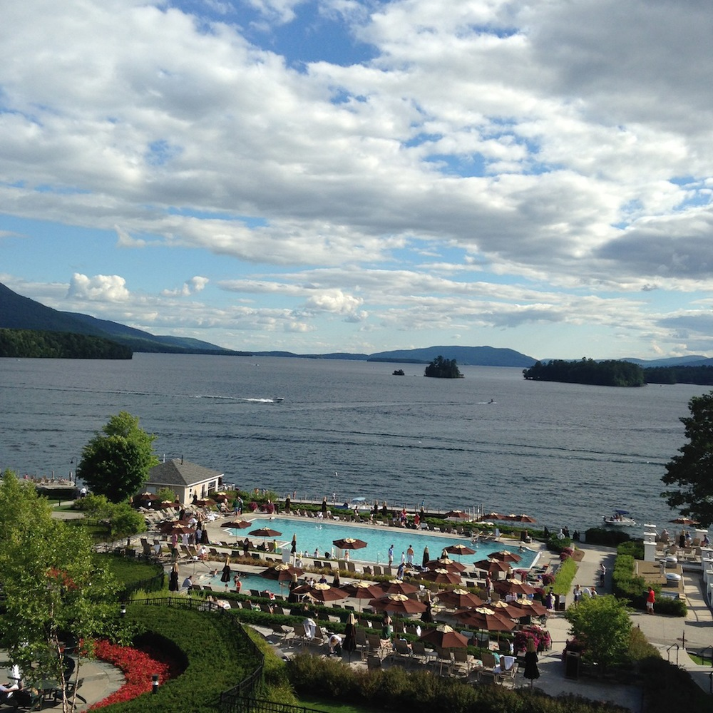 The Sagamore Hotel on Lake George