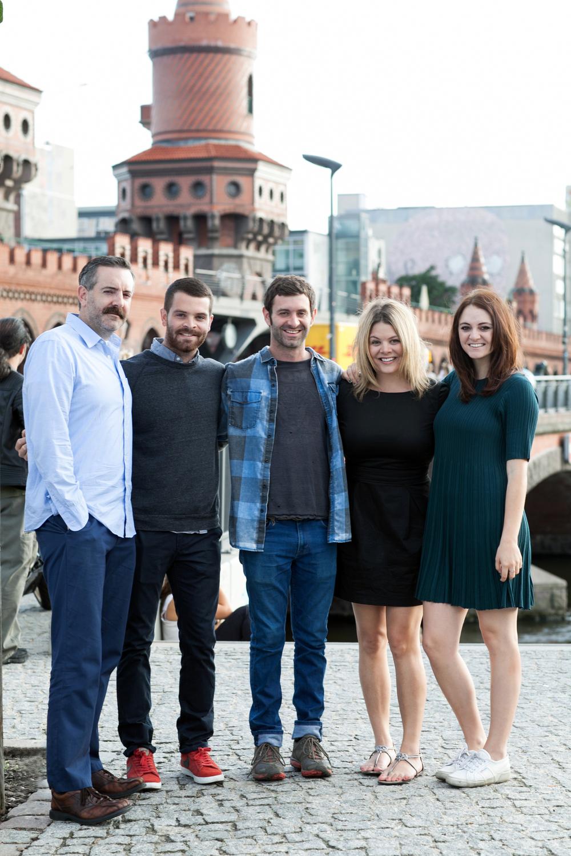 All five Fitzsimmons siblings in Berlin