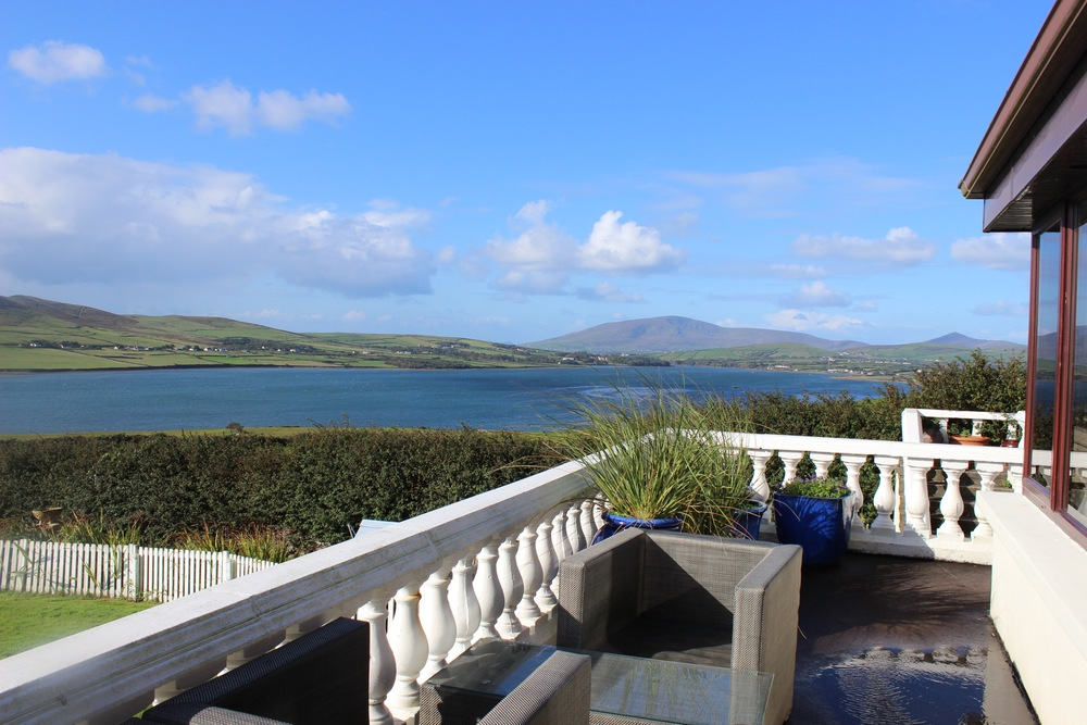 View from Pax House in Dingle