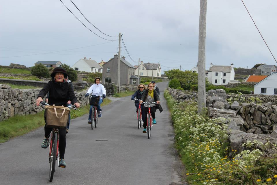 Biking on the Aran Islands