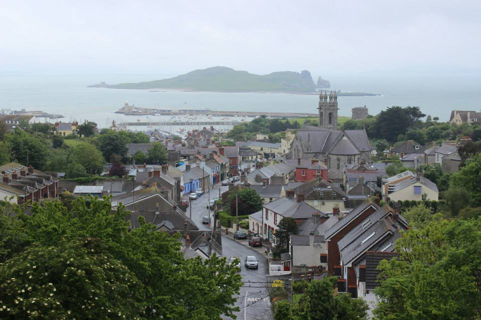 The coastal village of Howth