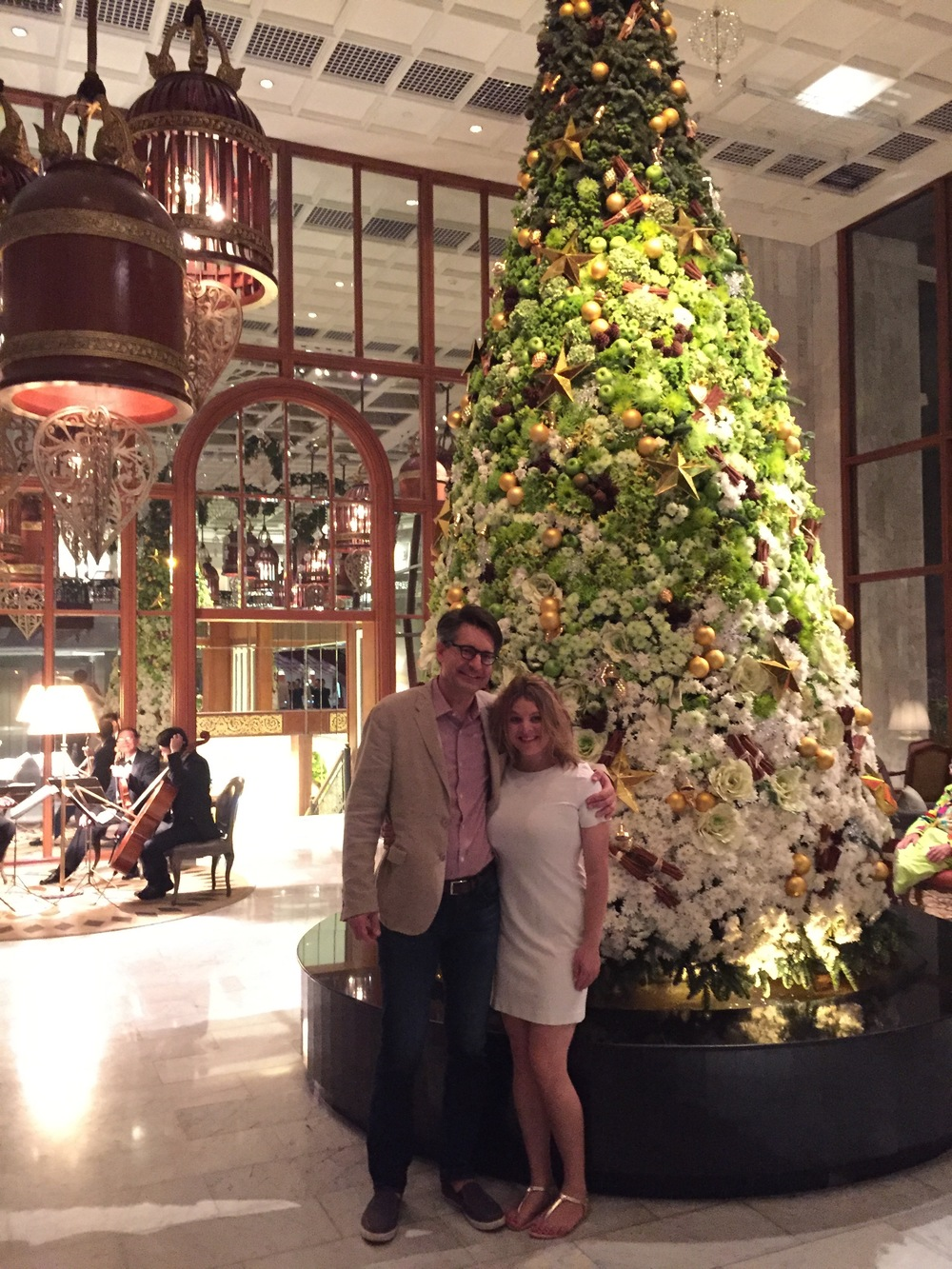 Merry Christmas from the Mandarin Oriental, Bangkok