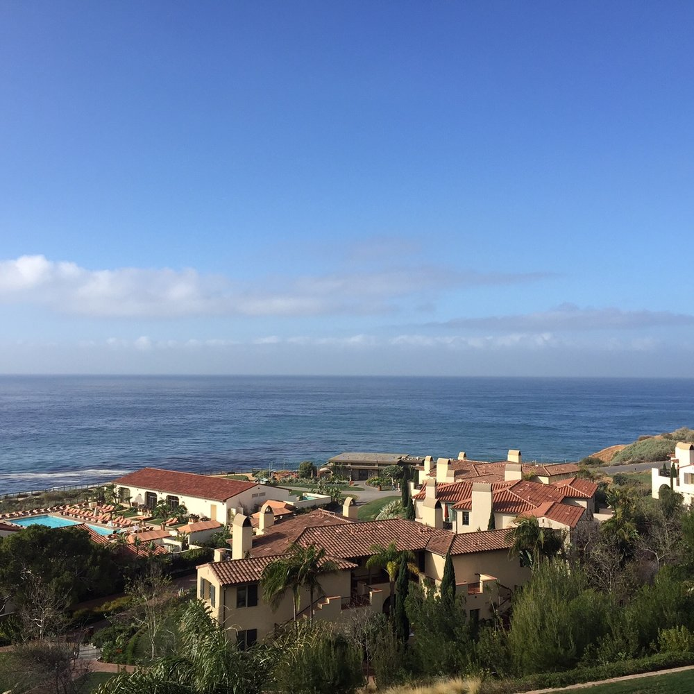 Work trip to Terranea Resort outside of L.A.