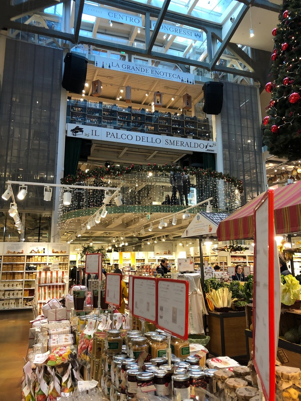I can't help but love Eataly all over the world.