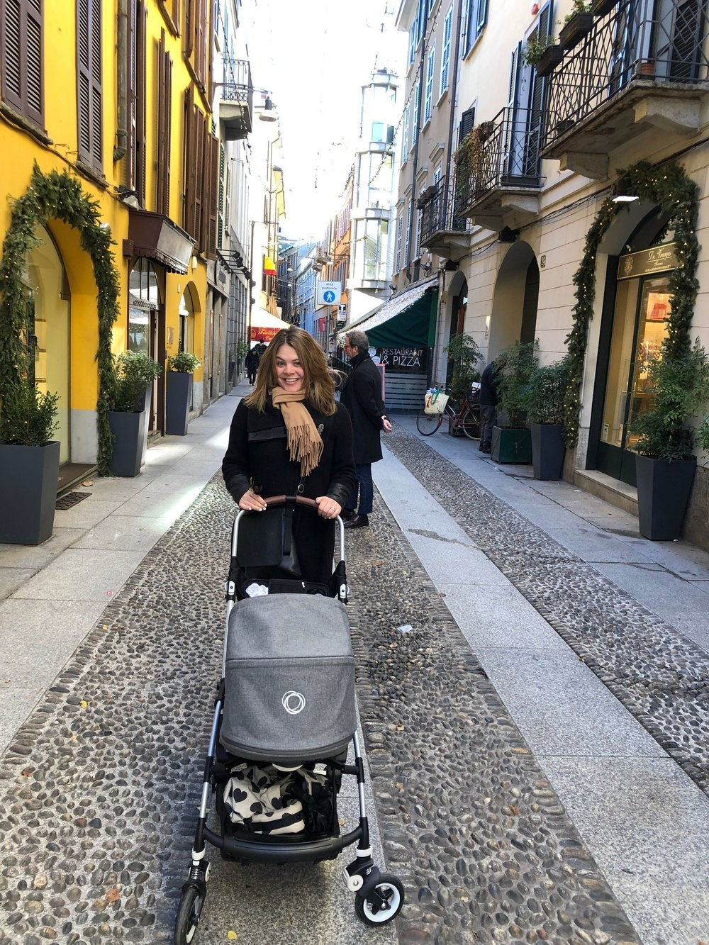 Walking in Brera