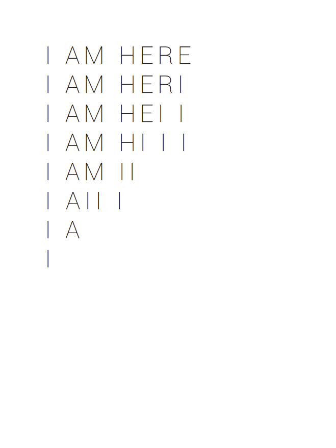 I AM HERE, 2016