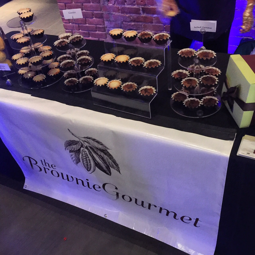 The Brownie Gourmet -  Event Table