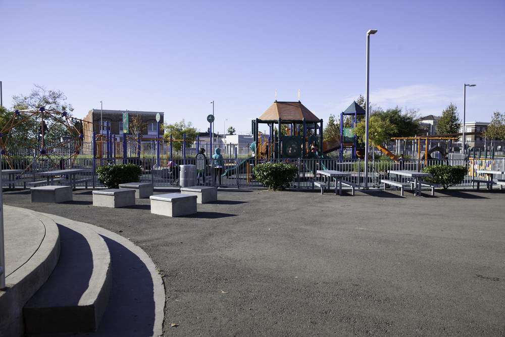 Children's playground at Nevin Community Center