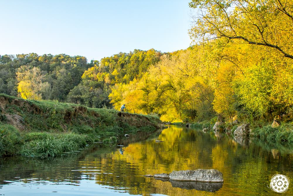 Fishermen and Fisherwomen can now enjoy fishing amongst fall colors.