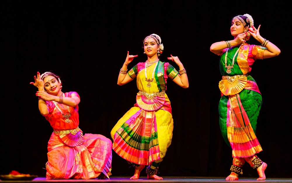 Silambam -Sydney presents its first Arangetram by Namrata, Shishira and Thanuja at UNSW Science Theatre, February 2018.