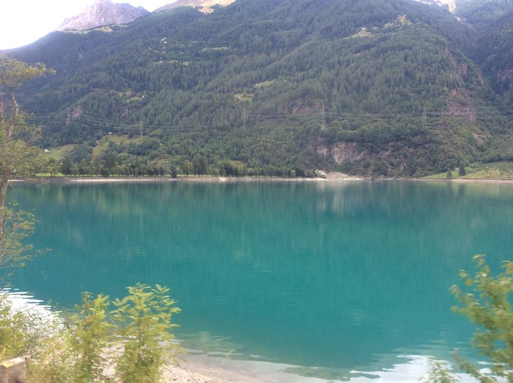 Los lagos de Suiza son espectaculares. Foto: Javier Vélez Arocho
