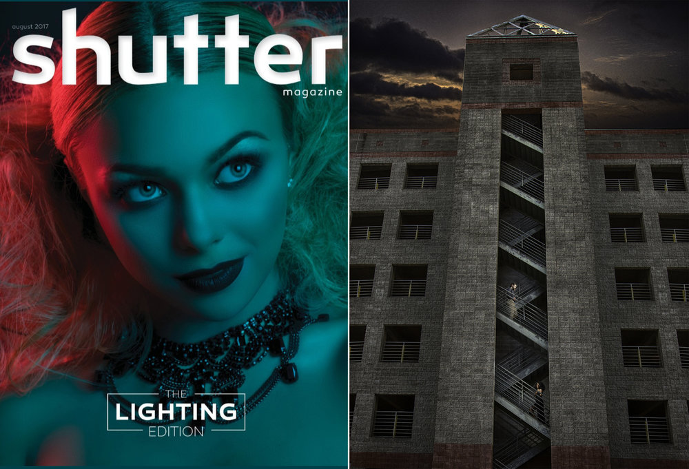 Publication - Shutter Magazine is one of the most respected photography magazines in this country. We're very proud that an image from one of our engagement sessions got highlighted in the August 2017 lighting issue.