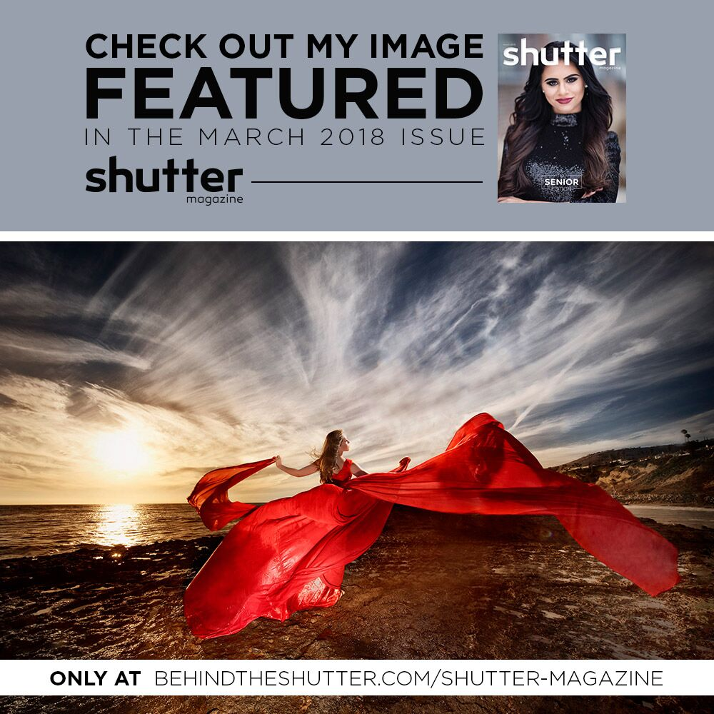 Publication - Once again we got feature in the inspiration section of the Shutter Magazine. This is a big deal since the Shutter Magazine is probably one of the most important photography magazines in this country. It's always an honor to have our work recognized by such a publication!