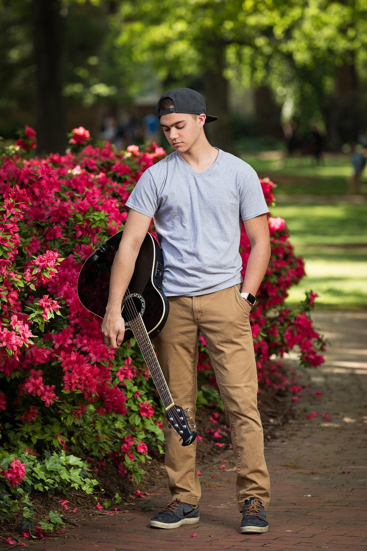 High School Senior Photographer Raleigh NC