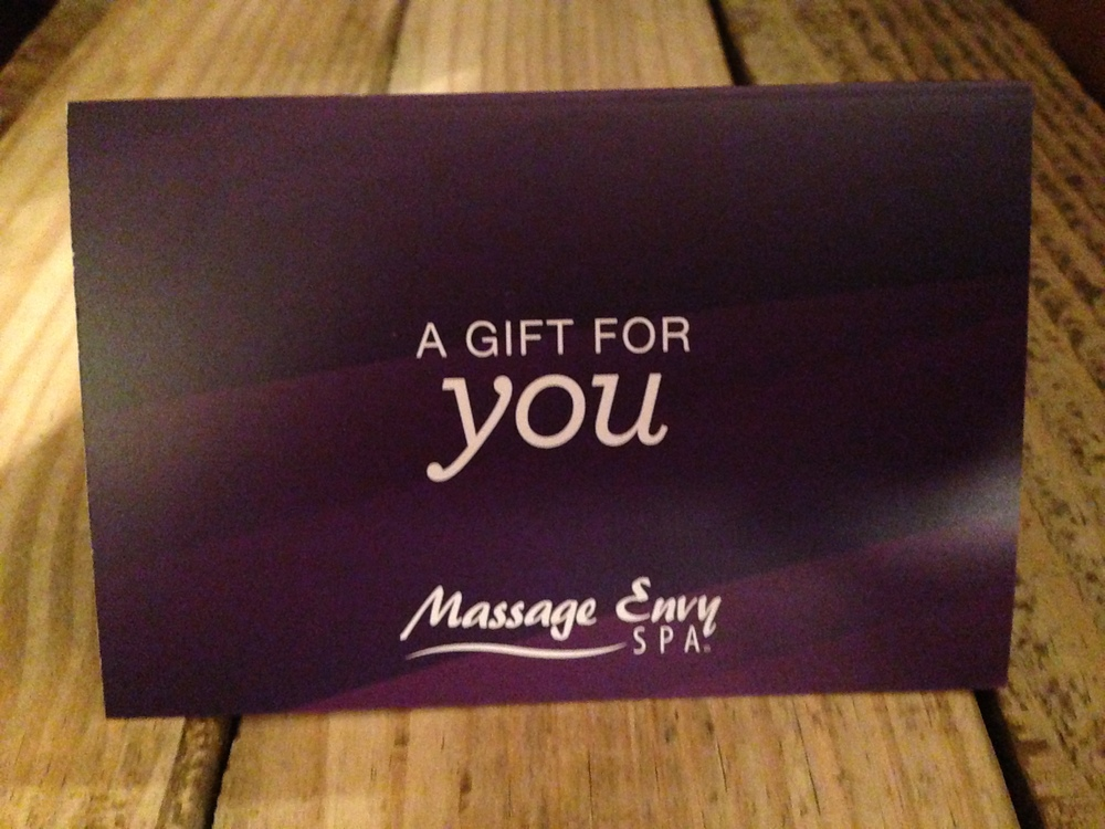 Did I hear you say you could really use a massage?  Who ever thought you could be altruistic in treating yourself to an hour of pampering!?