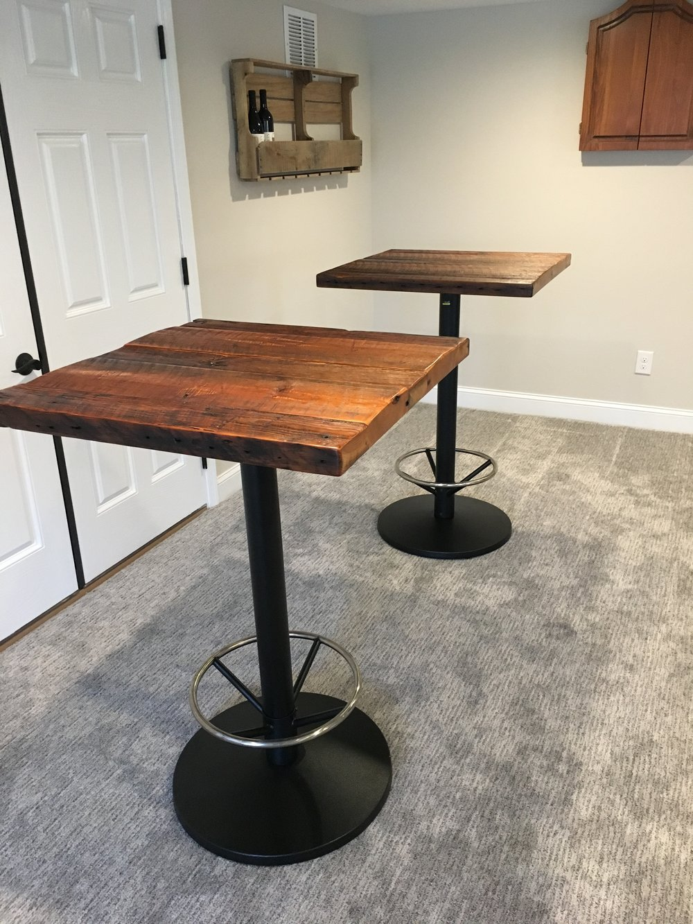 Rustic pub Tables