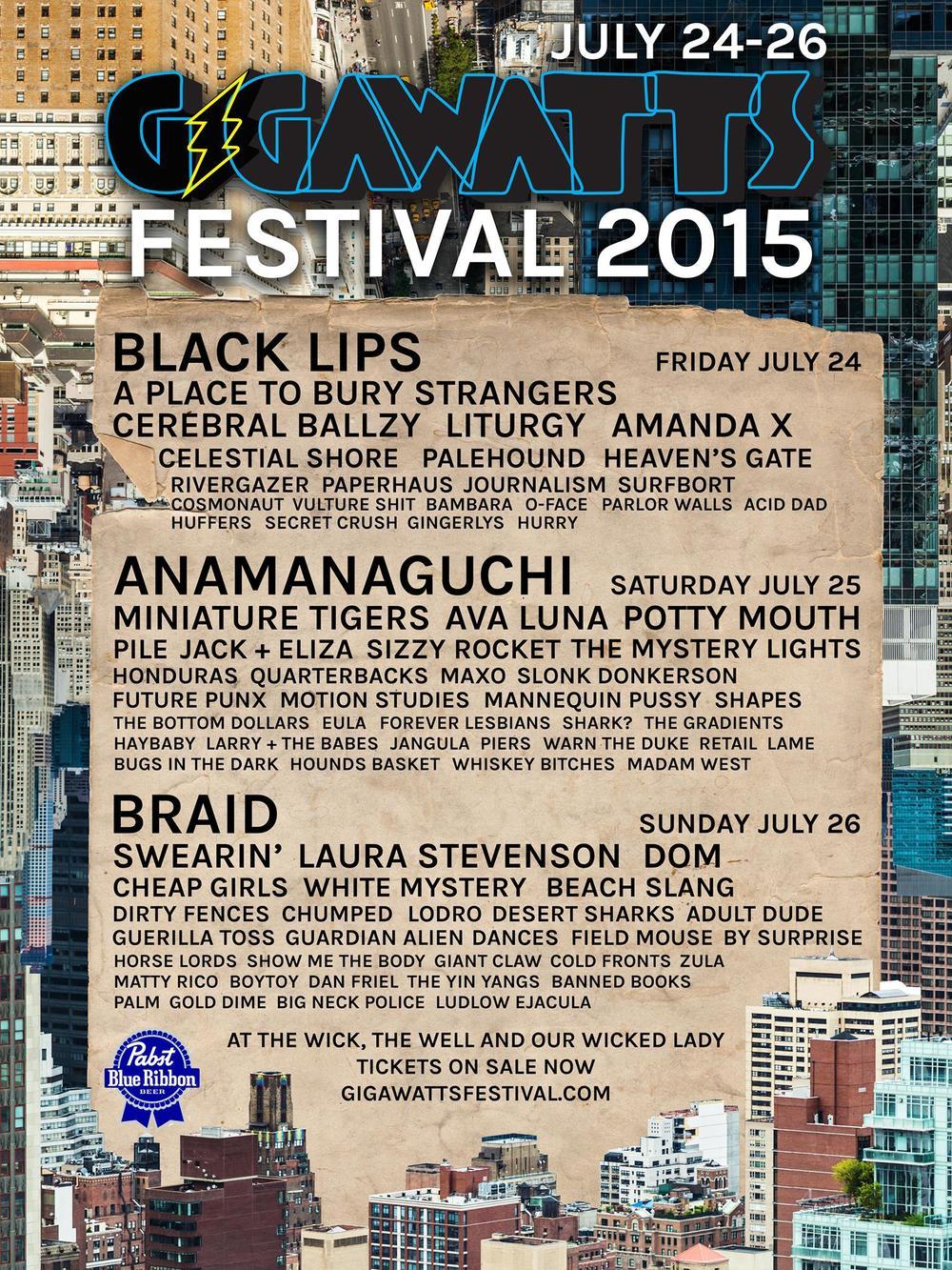 Gigawatts Festival 2015