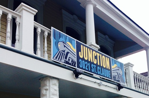 The facade of Junction, which opened Dec. 26.  Photo Credit: SARAH BAIRD