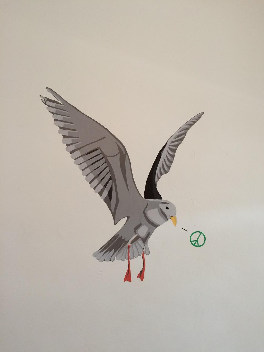 Peace Gull Carlaw Ave Toronto Canada