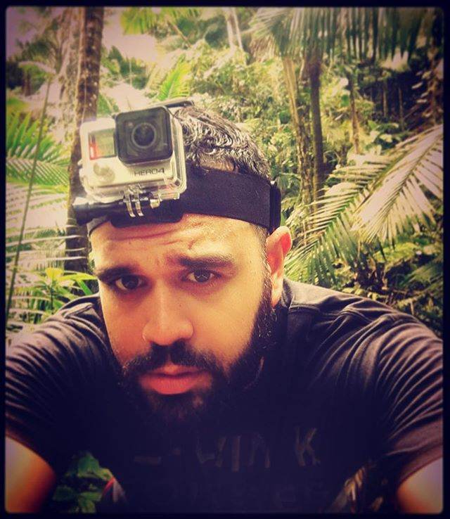 1Planet Co-Founder ready to explore El Yunque Rain Forest. #puertorico #1planet #gopro @gopro #travelingram #travel #traveldiaries #beardgang