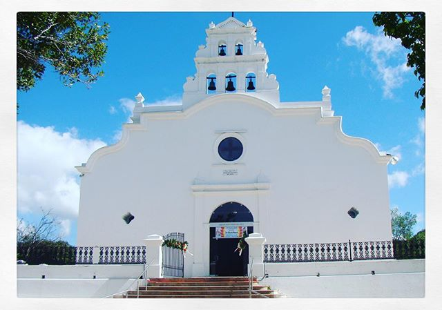 Historic church in Coamo built in 1661!