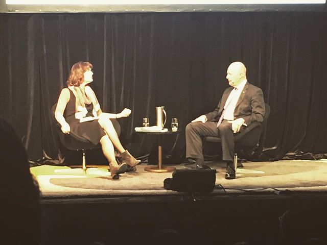 We forgot to post this one! We had the pleasure of visiting Sydney, Australia 🇦🇺 recently and saw James Clapper give a lecture!