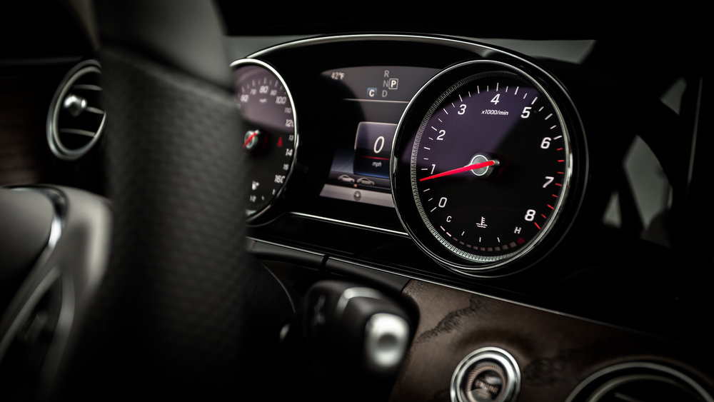 Mercedes-Benz E Class dashboard