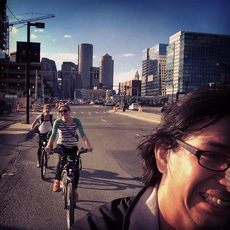 Need a good giggle?  Bike Share in Boston, SO MUCH FUN!  As you can see by my face.