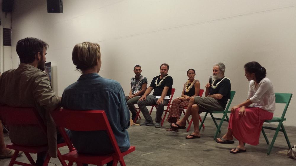panel discussion moderated by Aiko Yamashiro